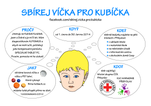 Sbirej vicka pro Kubicka