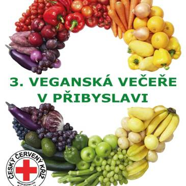 3. veganská večeře v Přibyslavi 23. 8. 2015