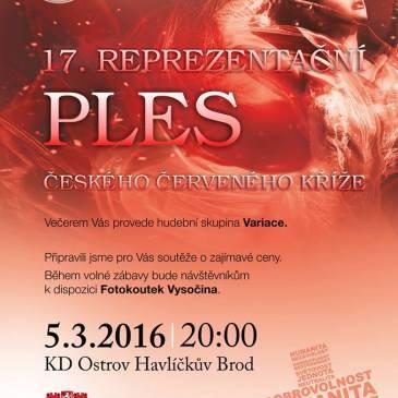 17. reprezentační ples ČČK 5. 3. 2016