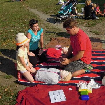 Mlékárenský den a Světový den první pomoci 10. 9. 2016