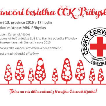 Vánoční besídka ČČK 13. 12. 2016