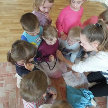 První pomoc do MŠ Stříbrné Hory 19. 4. 2017