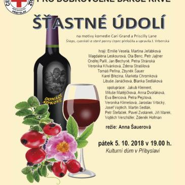 Divadelní představení pro dobrovolné dárce krve 5. 10. 2018