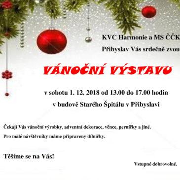 Vánoční výstava 1. 12. 2018