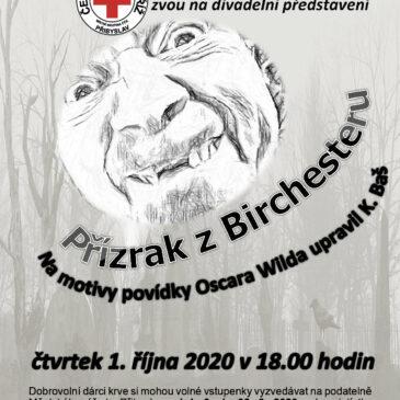 Divadelní představení pro dobrovolné dárce krve 1. 10. 2020